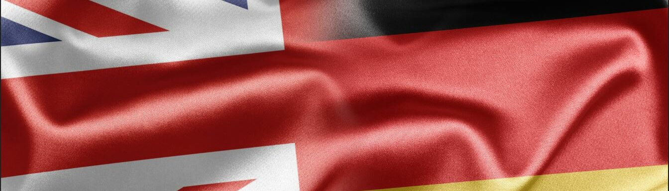 Anglo German Flags